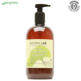 Natural Lab bio sampon és tusfürdő (500 ml)