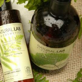 Natural Lab bio sampon és tusfürdő (500 ml)