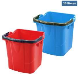 Műanyag vödör felmosókocsihoz (25 literes)